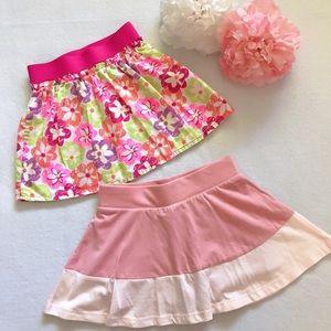 Bundle Of 2 Toddler Skort & Skirt Size 2T